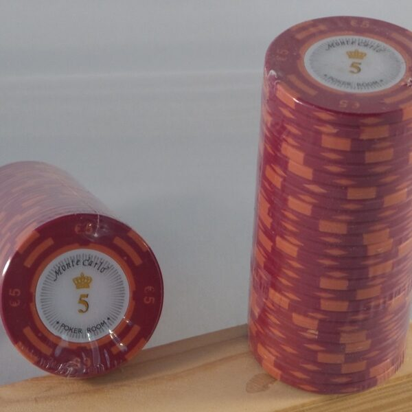 Pokerchips € 5,00 Monte Carlo
