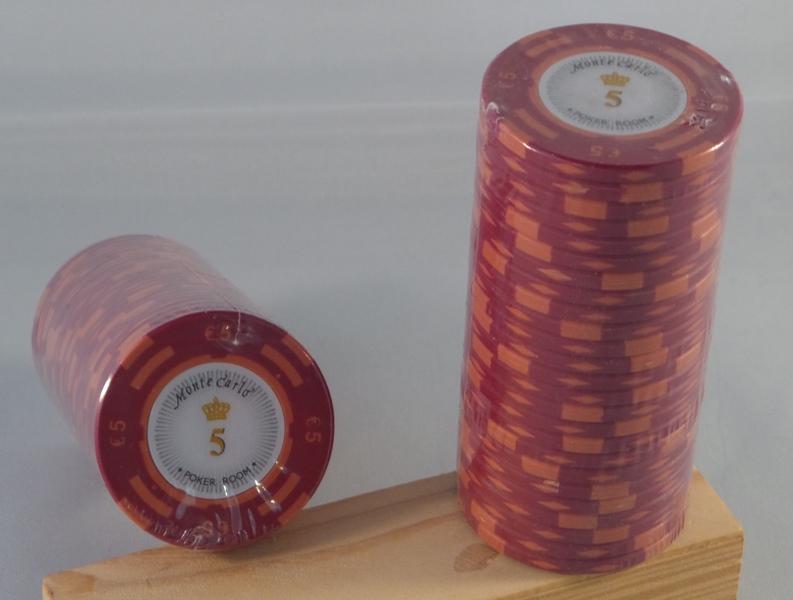 Pokerchips € 5,00 Monte Carlo