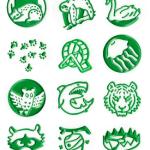 Rory's Story cubes - animalia, afbeeldingen op de dobbelstenen
