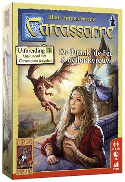 Carcassonne - de draak, de fee & de jonkvrouw - 999 Games