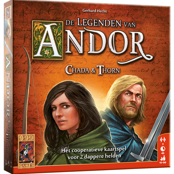 De Legende van Andor Chada&Thorn 999 Games