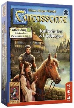 Carcassonne - Kathedralen & Herbergen - 999 Games