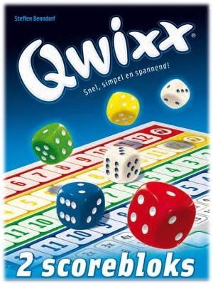 Qwixx Scorebloks