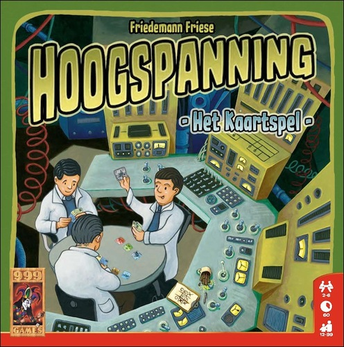 Hoogspanning het kaartspel