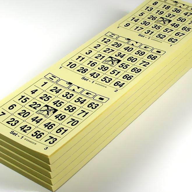 Bingo boek