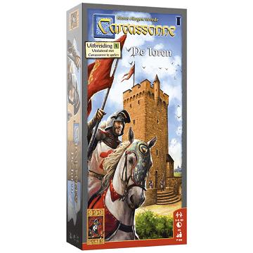Carcassonne - De toren - 999 Games