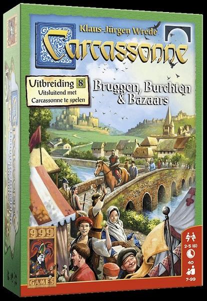 Carcassonne Bruggen Burchten en Bazaars