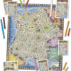France + west coast- kaart