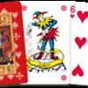 kaartspel rood kaarten