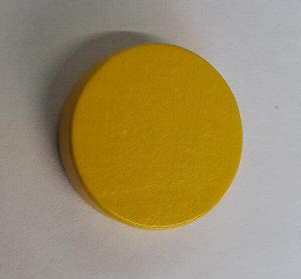 Gele schijf