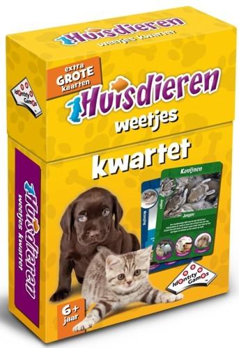 Huisdieren kwartet