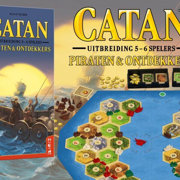 Catan - Piraten & ontdekkers - 5/6 spelers