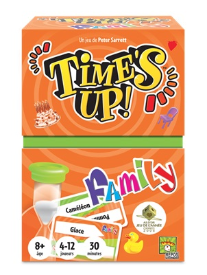 Time's up Family oranje