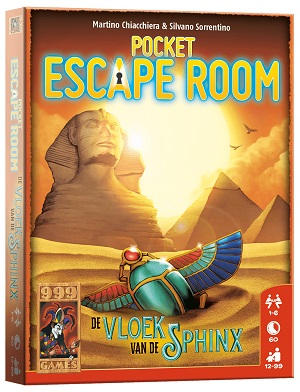 Pocket Escape Room De Vloek van de Sphinx