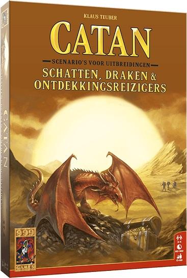 Catan schatten, draken ontdekkingsreizigers