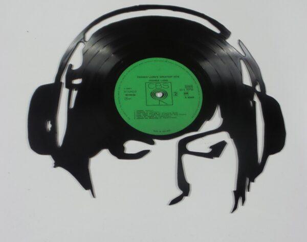 vinyl-hoofdtelefoon