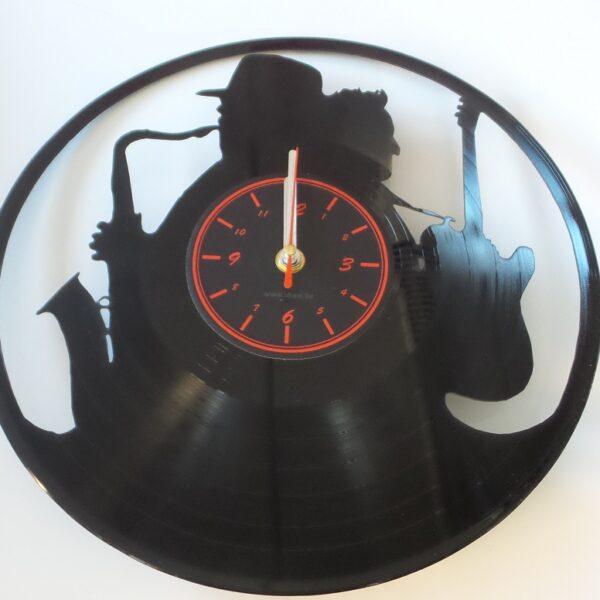 vinyl-Jazz-klok