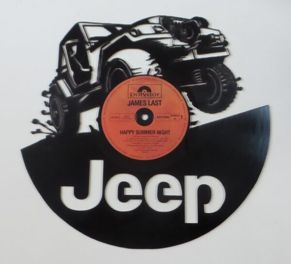 vinyl-Jeep