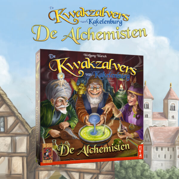 De Kwakzalvers van Kakelenburg De Alchemisten